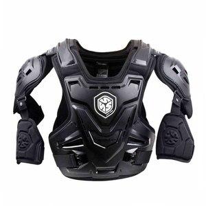 Image 3 - Scoyco ce armadura da motocicleta motocross peito volta protetor armadura colete motocicleta jaqueta de corrida proteção guarda corpo mx armadura