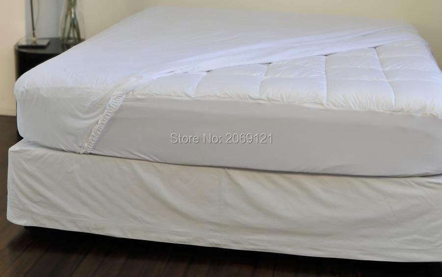 120X200cm Waterproof Smooth Top Hypoallergenic Mattress Protector ... : quilt protector - Adamdwight.com