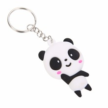 Cute Panda Shaped Key Chains