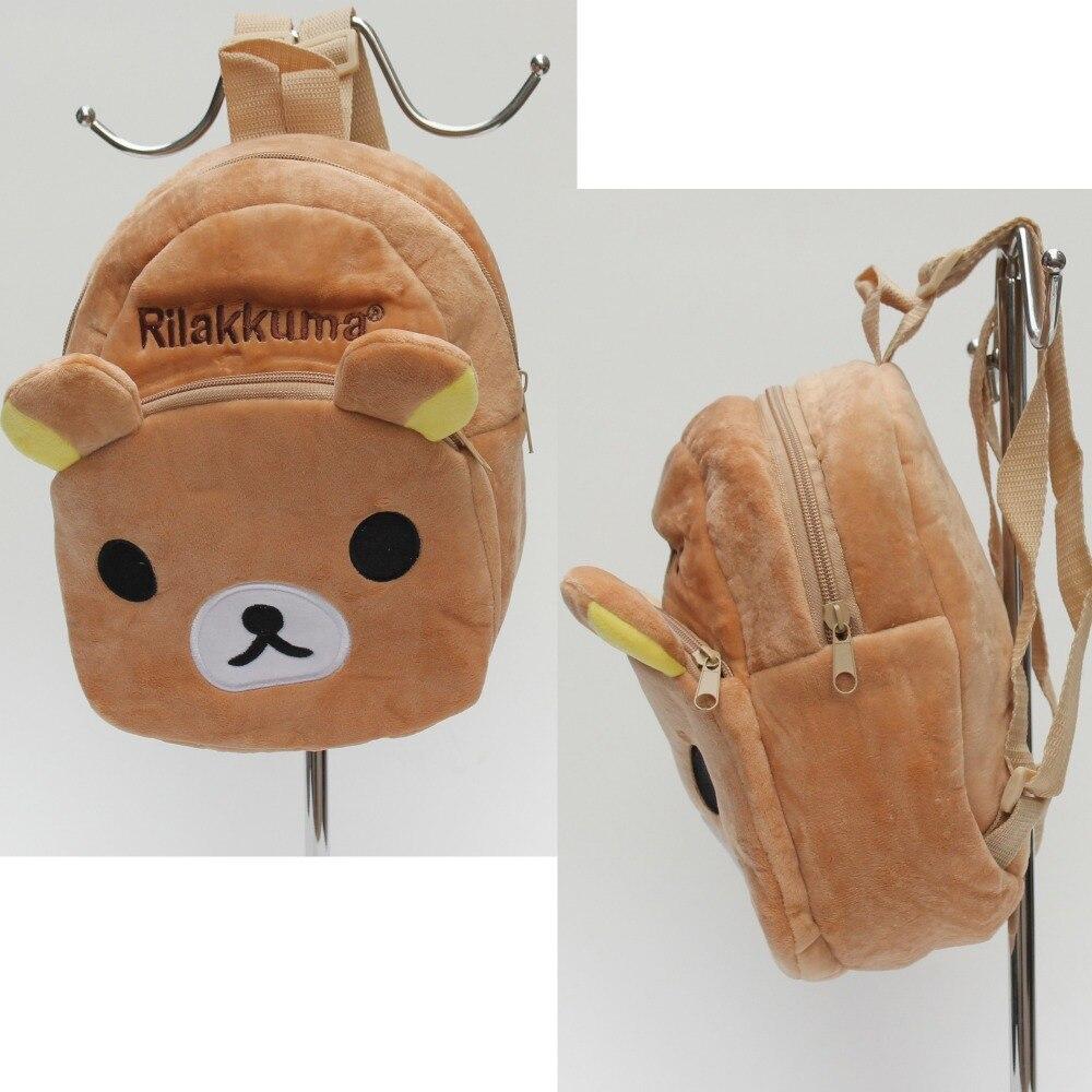 Cute relax bear bags small plush bags cartoon brand kids backpack ...
