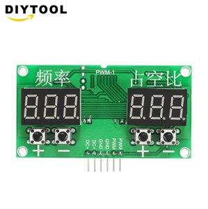 PWM импульсный 0-99% Частотный Генератор сигналов квадратной волны Модуль рабочего цикла плата DC 3,3 V 20V ШИМ привод транзистор