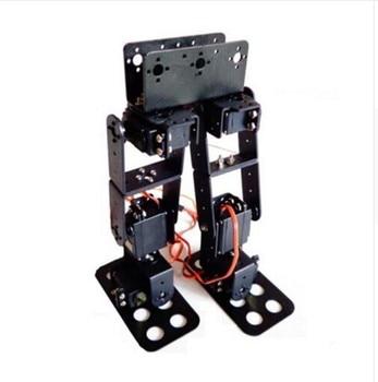 6 DOF Biped Walking Humanoid Robot Servo Bracket, механическая рукоятка для Arduino, Роботизированная обучающая модель проекта «сделай сам»