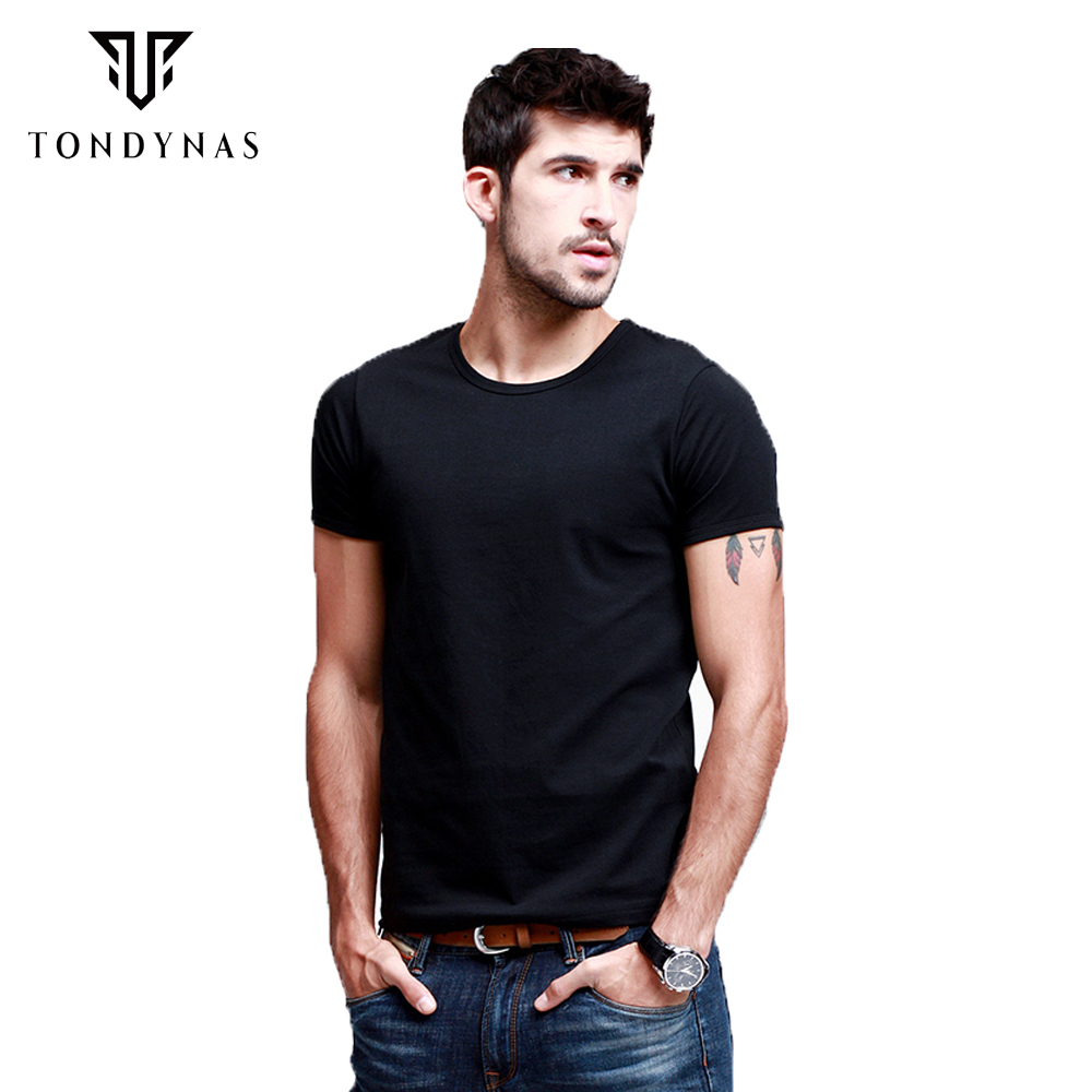 Wholesale brand men t shirts man tshirts round neck t for Bulk mens dress shirts