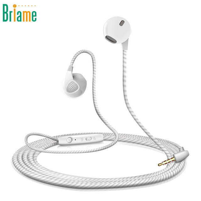 Sport Headphone Stereo Earphone 3.5mm Super Bass Music Running Headset With Microphone For iPhone Samsung Xiaomi Fone de ouvido