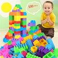 250 unids niños juguetes de plástico montado diy juguetes educativos para niños bloques de juguete bloques de construcción de aprendizaje del bebé divertido conjunto bl58
