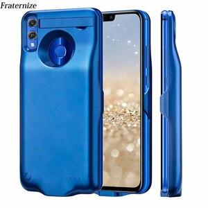 Тонкий чехол для зарядного устройства для Huawei P Smart, 2019, ударопрочный чехол с USB зарядным устройством, задняя крышка для Huawei Honor 10 Lite