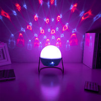 Stars Starry Sky LED Night Light Projector Moon Lamp Stage Light USB Power Baby Sleeping Lamp for Kids Gifts Children Bedroom