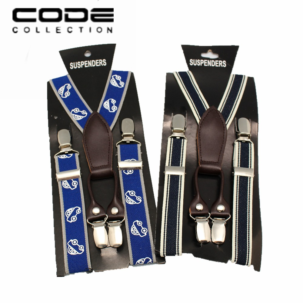 New Fashion High Quality Children Adjustable 4 Clip on Y back Suspenders Kids Girl boy Braces in Men 39 s Ties amp Handkerchiefs from Apparel Accessories