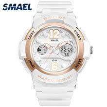 2017 Relojes de pulsera de LED Impermeable Rosa de Oro Blanco Mujeres Reloj Superior de la Marca de Cuarzo Reloj de Pulsera 1632 Del Relogio Feminino Relojes de Las Muchachas