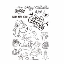 gowing happy new year embossing folder die 3d stamp seal