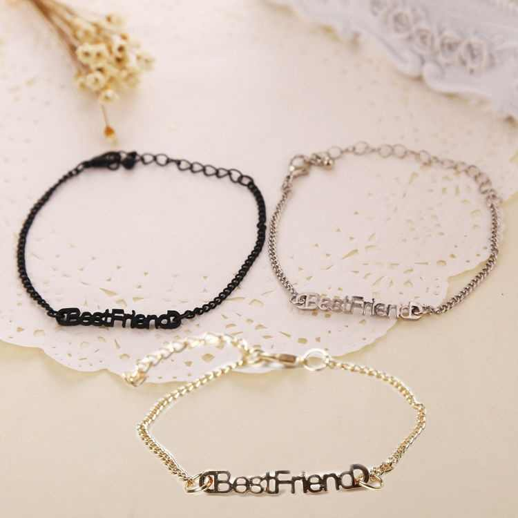 Charm Hand Chain Bracelets Best Friends