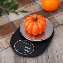 Digital Kitchen Scale 5Kg/1g stainless steel Electric Kitchen Scale High Accurate Food Baking Scale LCD Backlight Display scale kitchen gemlux gl ks5sb lcd display max load 5 kg автоотключение to save battery reset weight tare stainless steel