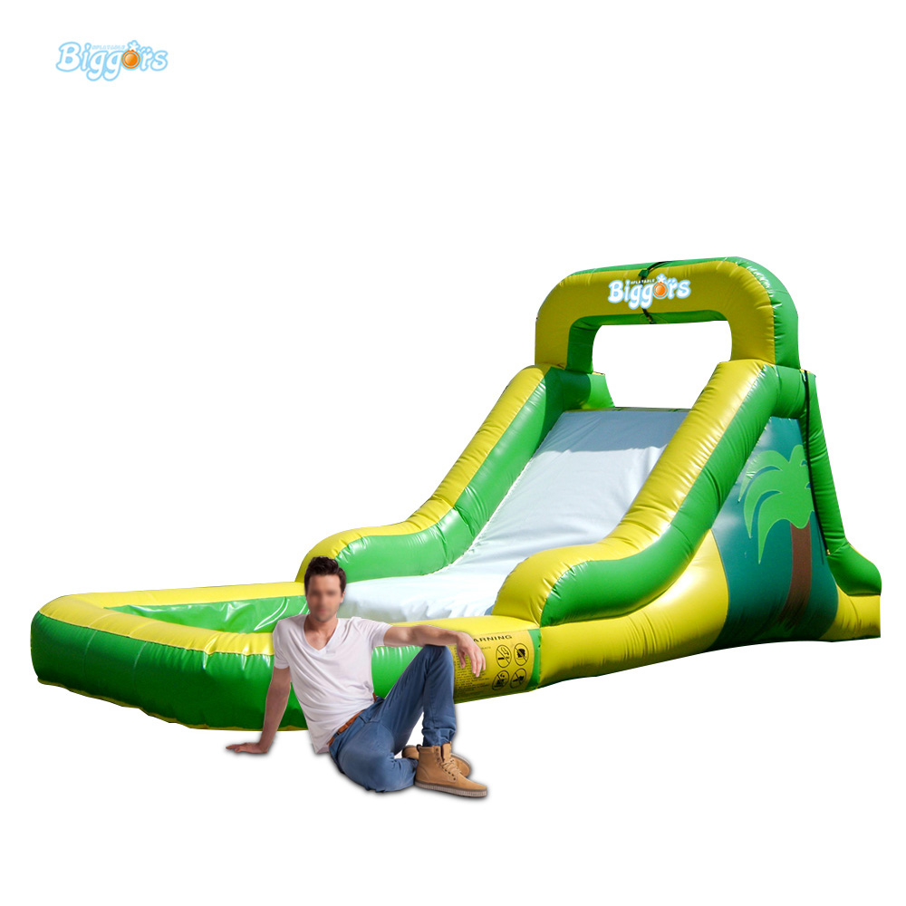 Inflatable Biggors Backyard Inflatable Slide Pool For Rental commercial sea inflatable blue water slide with pool and arch for kids