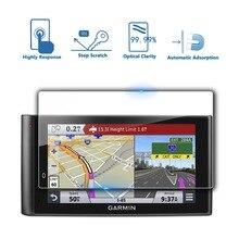 RUIYA (2 pcs) protetor de tela para Garmin dezlCam LMTHD 6 polegada gps tela, 9 H película protetora de vidro temperado anti-reflexo