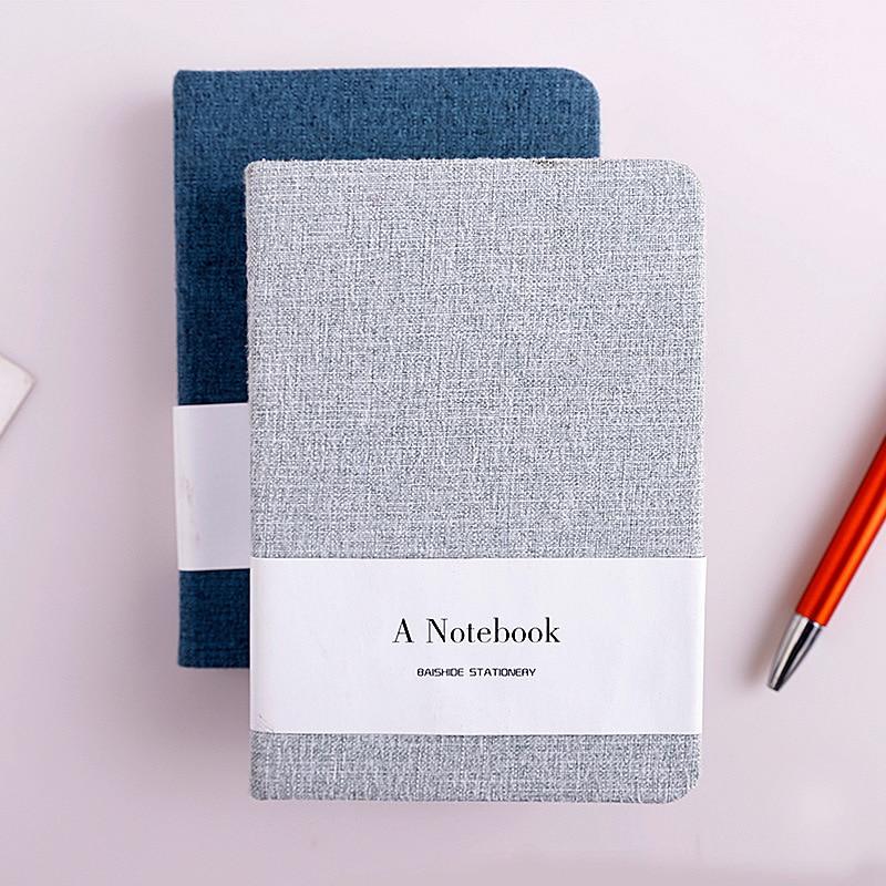 A6 Simple color puro paño libros páginas en blanco relacionados con ...