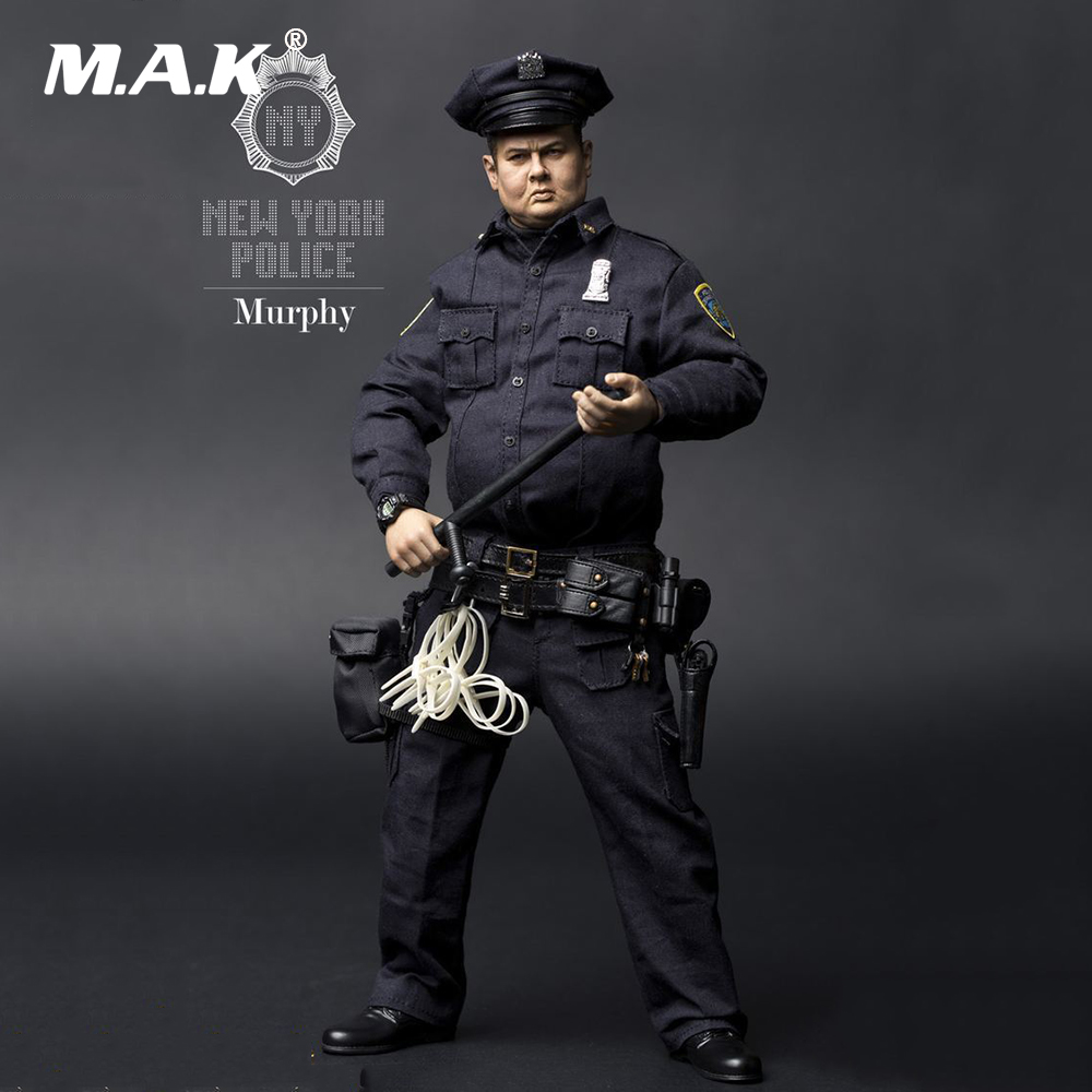 1/6 Scale Full Set Male Action Figure New York Fat Police 2.0 Murphy Movable Male Figure Model for Collection Gift 1 6 scale chinese 007 agent from beijing with love movable action full set figure model toys for collection