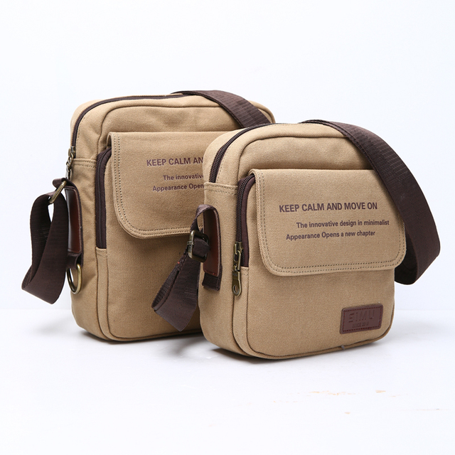 Man Urban Daily Carry Bag High Quality Men Canvas Shoulder Bag Casual Travel Men's Crossbody Bag Male Messenger Bags 5