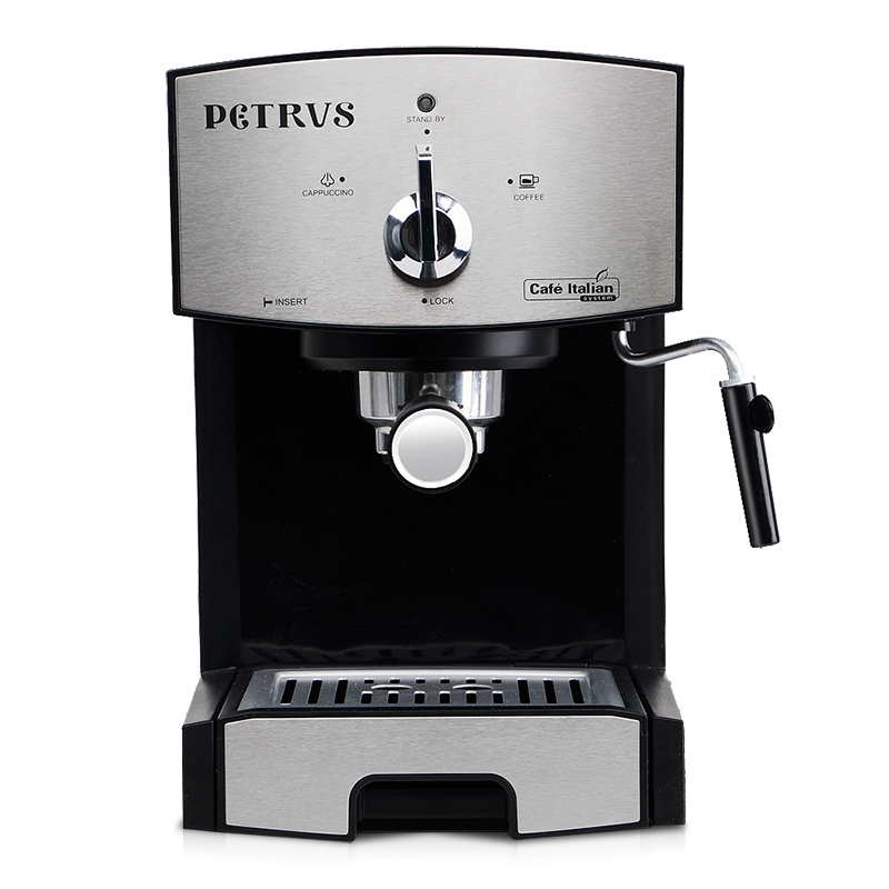 coffee machine home commercial italian steam type playing milk bubblechina - Commercial Coffee Makers