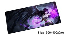 Morgana mouse pad 900x400mm pad mouse lol notbook computer mousepad Fallen Angel gaming padmouse gamer laptop mouse mats