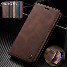 Luxury Leather Magnetic Flip Case for IPhone XS Max XR X Wallet Card Holder Stand Book Cover for IPhone 5 5s 8 7 6 6s Plus Coque rangers in world war ii