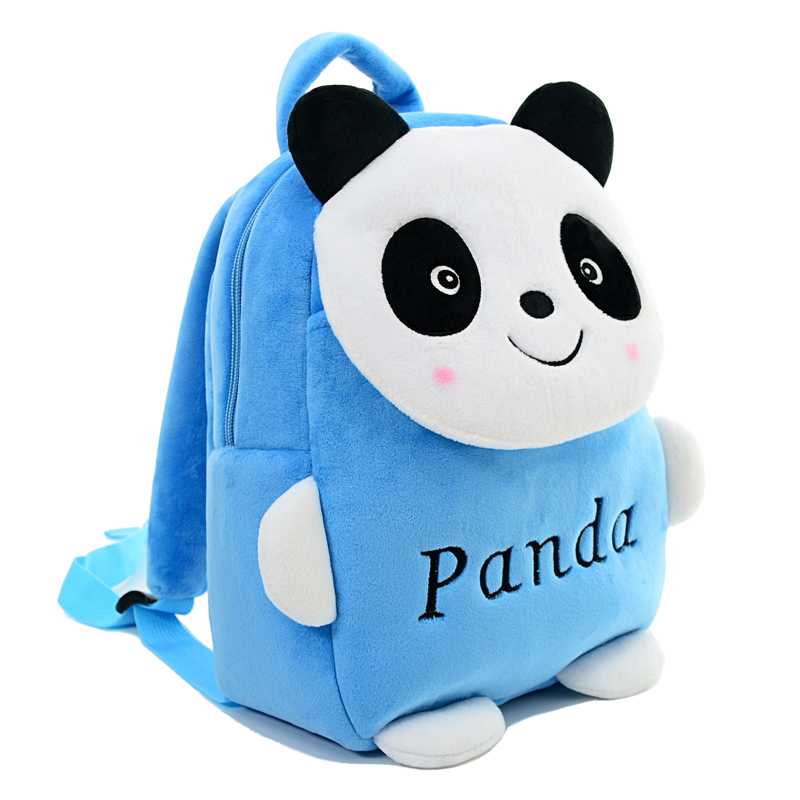 4ffc0db2a New Cartoon Panda Plush Backpacks Kids Adjustable Backpack Baby ...