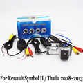Para Renault Symbol II/Thalia 2008 ~ 2013/Coche Con Cable O Inalámbrica de Visión trasera Cámara de Visión Nocturna del CCD/Gran Angular de Lente de Cámara