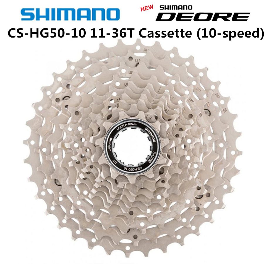 New Shimano Deore M6000 Cs Hg500-10 Mountain Bike Flywheel Mtb Hg500 10 Cassette Cassettes, Freewheels & Cogs