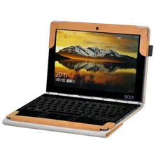 ocube Folio Stand PU Leather Keyboard Case Cover(Can Put Keyboard)For Lenovo Yoga Book Tablet PC 10.1 inch