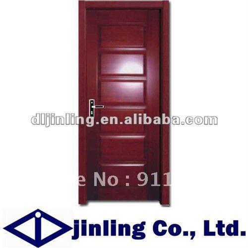 Luxury interior solid wood door design/wooden door