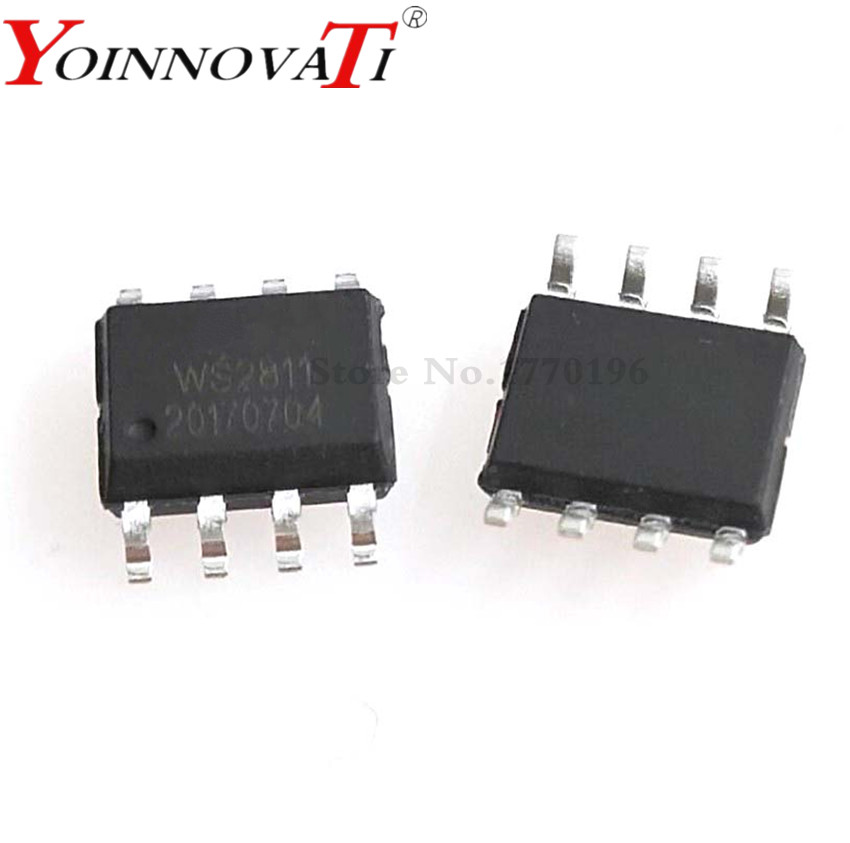 Free Shipping 200pcs/lot Ws2811s Ws2811 2811led Driver Chips Best Quality Electronic Components & Supplies