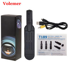 Volemer T189 Mini Camera 720P Infrared Night Version Security Camcorder Voice Recording DV Camera Mini Cam Camcorder(China)