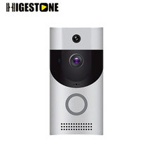 Higestone Outdoor Wireless Video Doorbell Mobile APP remote control Intercom IR LED Night Vision Receiver Set wifi doorbell PIR(China)