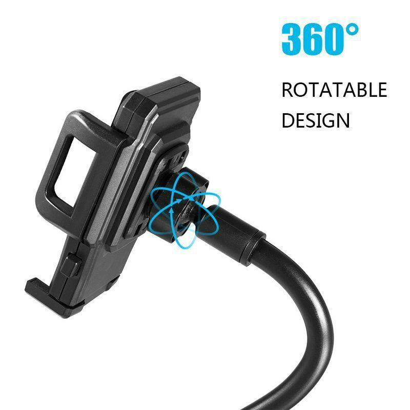 Universal Car Mount Adjustable Gooseneck Cup Holder Cradle for iPhone Samsung Huawei Xiaomi Cell Phones