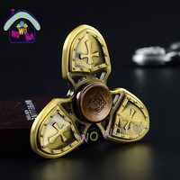 Fidget Spinner High Quality Caesar The Great Retro The Crusades Torqbar Bronze Hand Toy EDC Hand