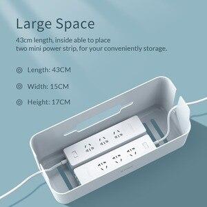 Image 4 - Orico power strip caixa de armazenamento cabo organizador para power bank usb carregador caixa de gestão cabo