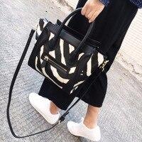 Große Kapazität Zebra Lächeln Gesicht Große Einkaufstasche Frauen Designer-handtaschen Hoher Qualität Flügel Bat Damen Handtaschen Umhängetasche