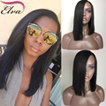 Long Bob Wig Short Human Hair Wigs Glueless Full Lace Front Wigs Brazilian Straight Full Lace Human Hair Wigs For Black Women