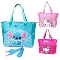 Tote Bag Cotton New Stitch Kitty Function Mummy Bag Big Capacity Of Inclined Waterproof Shoulder Handheld Shopping Wholesale