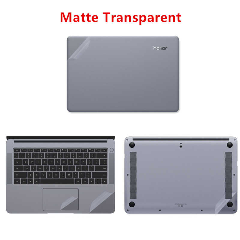 Matte Transparent Laptop Sticker for Huawei MateBook 13 X Pro 13.9 Laptop Skin for Matebook X 13.3 E12 D 15.6 Notebook Skin Case