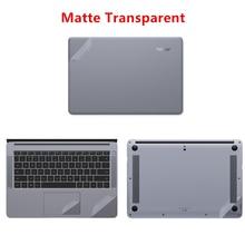 все цены на Matte Transparent Laptop Sticker for Huawei MateBook 13 X Pro 13.9 Laptop Skin for Matebook X 13.3 E12 D 15.6 Notebook Skin Case онлайн