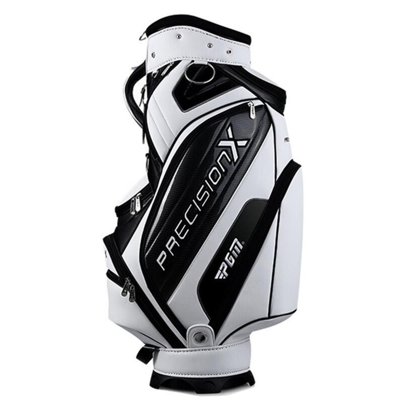 Bolsa de soporte de Golf ligera bolsas de Golf de cuero PU Paquete de gran capacidad equipos de Golf tienen un conjunto completo de palos D0079