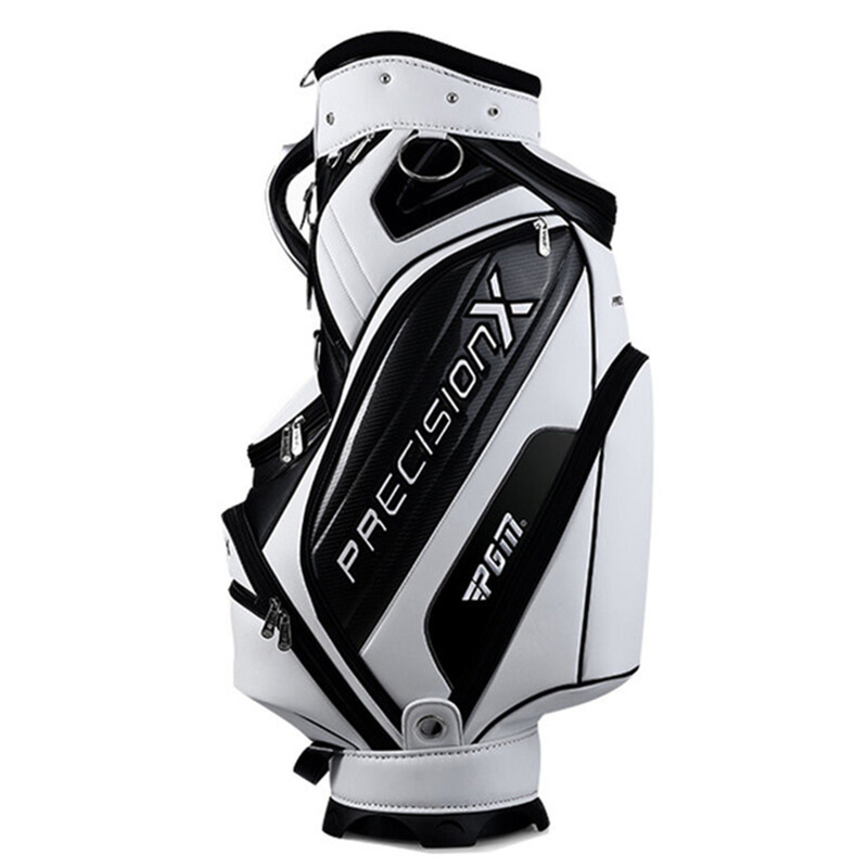 Lightweight Golf Stand Bag PU Leather Golf Bags Large Capacity Package Golf Equipments Hold A Full Set Clubs A7085