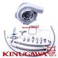"""Kinugawa Rolamento De Esferas Turbocompressor Boleto 4 """"Anti Surto GTX3076R AR.82 T3 V-Faixa de 4 Parafuso"""