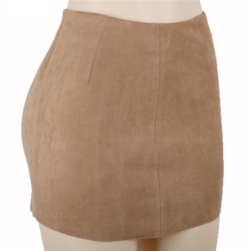 HTB15gnUQXXXXXciXpXXq6xXFXXXE - FREE SHIPPING Women Suede Mini Skirt JKP198
