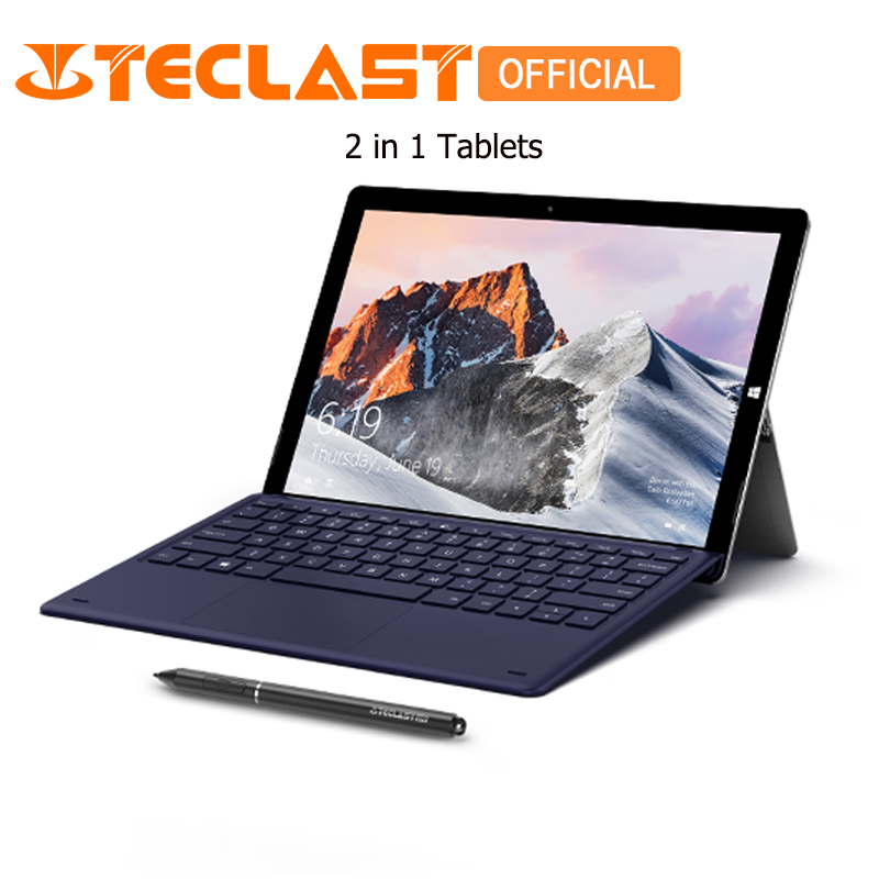 Teclast X6 PRO Tablet PC 8GB RAM 256GB ROM Quad Core Windows 10 Home 12.6 inch 1920*2880 FHD IPS Dual Camera HDMI 2 in 1 Tablets times newspaper reading course of intermediate chinese 1 комплект из 2 книг