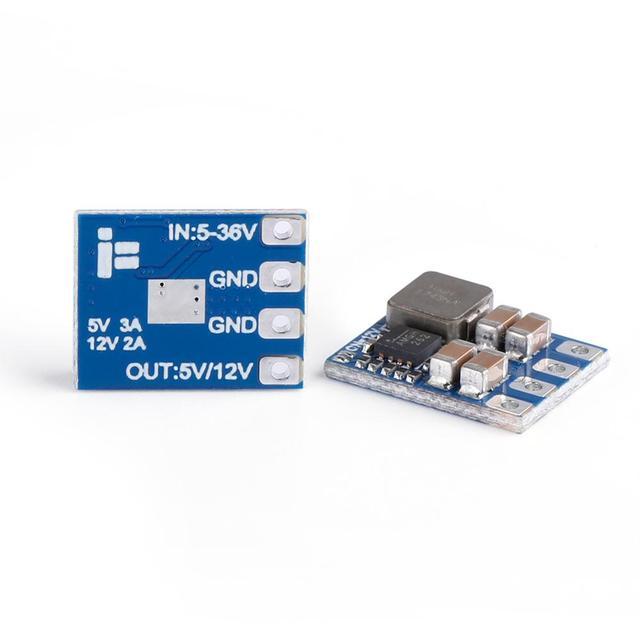 4 adet/grup iFlight mikro 2 8S BEC 5V/12V çıkış/Step down regülatörü modülü RC FPV yarış Drone PS Matek sistemleri mikro BEC