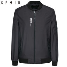 SEMIR Jackets mens thin overcoat black clothes mens long sleeve classic ma-1 clothes fashion streetwear clothing male hi-fashion(China)