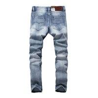 2019 New Balplein Brand Jeans Men Famous Blue Men Jeans Trousers Male Denim Straight Cut Fit Men Jeans Pants,Blue Jeans,981 A