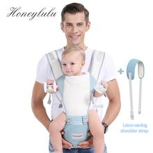 цена на Honeylulu 3D Breathability Baby Carrier Fashion Sling For Newborns Kangaroo For Baby Ergoryukzak Sling Hipsit Kangaroo Backpack