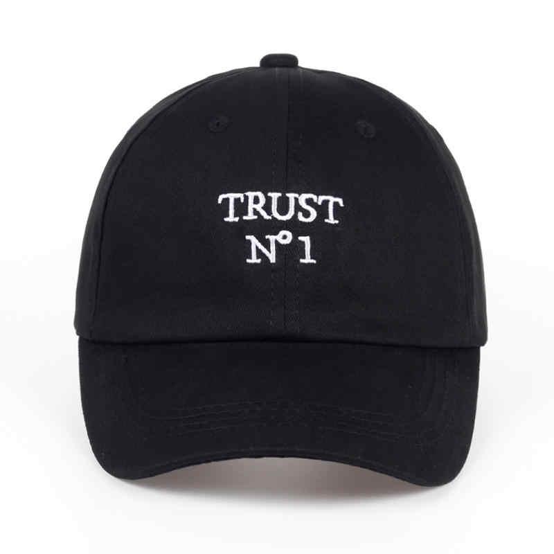 27890a737e8 ... 2017 new Trust No1 Dad cap men women fashion Baseball Cap Unconstructed  Hip hop snapback hats ...
